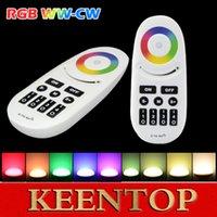Wholesale Mi Light Wireless G Zone RGBW Touchtone remote control for led strip RF Wifi dimmable Controller rgb controller for milight
