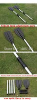 aluminum boat oars - Hot Sales cm Double Ended Detachable Afloat Oars Paddles Boat Kayak Raft Canoe Aluminum