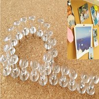 best bulletin boards - 40pcs New Arrival Best Price Transparent Decorative Push Pins Thumbtacks Steel Point Bulletin Board Office School