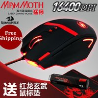 Wholesale Redragon MAMMOTH Perdition DPI High Precision Programmable Laser Gaming Mouse for PC MMO Programmable Buttons