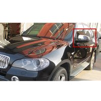 Wholesale Fit For BMW X5 E70 Car rearview Mirror Cover Trim side mirror cover abs chrome per set order lt no track