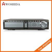 Wholesale HD Full D1 CH DVR Video Monitor Recorder Network Remote Control VGA P2P Woshida