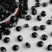 Wholesale Black mm Carat Acrylic Diamond Confetti Wedding Party Decoration Table Scatters