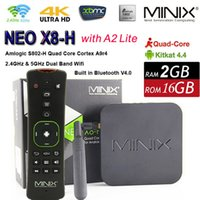 Included android spdif - Amlogic S812 Quad Core Android TV Box MINIX NEO X8 H X8H Plus G RAM G ROM WIFI H K BT HDMI SPDIF RJ45 OTA with A2 Lite Airmouse