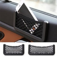Wholesale New Arrivals Car Seat Side Net Bag Interior Accessories Phone Holder Storage Elastic Net And Polypropylene Size S L CX299
