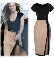 split shorts - Plus Size Maxi Dresses New Women maxi dresses Summer Fashion Top Sale Short sleeve Crew neck Split Casual Clothing Dresses for women