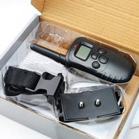 Wholesale Control or dog New Yard LCD Remote Wireless Pet Dog Training Collar Level Shock Vibration