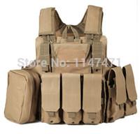 Wholesale Camo Interceptor Tactical Vest Colete Airsoft Tactical Molle Soft Body Armor Combat Plates Vest Multicam Military Uniform