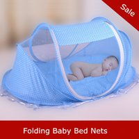 Wholesale New Baby Bed Folding Type Mosquito Net Cheap Price Baby Bed Accessories Children Crib Mosquito Netting
