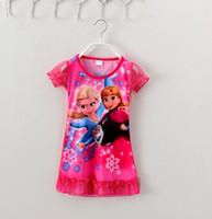 Cheap 2015 Fashional lace girl princess dress girl's summer clothing flower girl dress Chidren Korean Wednesday
