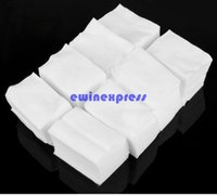acrylic cleaning - Set of Lint Free Nail Art Wipes Paper Pad Gel Acrylic Tips Polish Remover Facial Cleaner