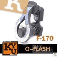 Wholesale O Flash Macro Flash unit F170 O Flash Ring for CANON nikon d80 d50 d90 d60 d70s dslr