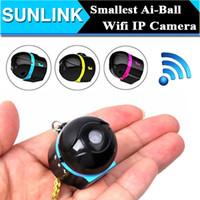 achat en gros de wifi sans fil pour tablet pc-Ai-ball plus petite caméra de surveillance Ultraportable Wireless Mini Wifi Invisible IP caméra espion monde pour Moblie iPhone Tablet PC Téléphone