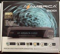 al por mayor azamerica-2016 marca la torta caliente venta caliente del nuevo satélite DVB-C de Azamerica S1001 receptor de HD para el mercado de Suramérica