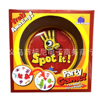 Wholesale 60PCS LJJH1061 Spot It Family Party Card Game funny Board Game board role playing games