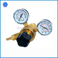arc welding copper - Female0 Argon gas welding regulator twin gauge single stage Forged copper CO2 Argon regulator for shielded arc