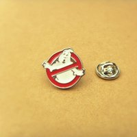 Wholesale New Arrival Movie Jewelry Ghostbusters DC Comics Lapel Pin Brooch Emblem Badge pc