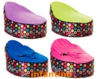 Wholesale Disco balls with different harness seat New Designed Baby Bean Bag Bed