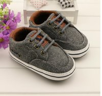 elastic band - Grey cotton shoes boys warm soft bottom infant unisex baby prewalker kid walking shoes pair CL