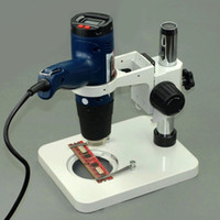 air chipping gun - Handheld hot air gun Carrier Hot Air Blower Welding BGA chip rack DIY BGA rework station Microscope stand
