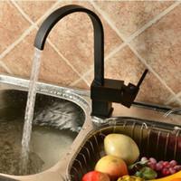 Wholesale Oil Rubbed Black Bronze Degree Swivel Kitchen Sink Faucet Mixer Tap Basin Faucets
