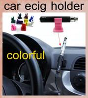base bracket - Car ecig holder bracket base ecigs car ecigs holder for ego EVOD x6 mods battery CE atomizer e Cig starter kit stander FJ047