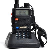 baofeng - 2015 Hot Lowest Price BF UV5R Handheld Portable Walkie Talkie BaoFeng UV R CH Dual Band UHF VHF DTMF Two Way Radio Transceiver