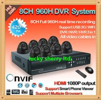 video surveillance - Home CH H Surveillance Network DVR Day Night Waterproof Camera DIY Kit CCTV Security CH Video System Mobile View