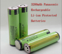 Wholesale torch battery headlamp battery Original New mAh Rechargeable battery NCR18650BE For panasonic