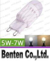 G9 Lampe LED 5W 7W 220V Mini LED Ampoule LED G9 céramique haute puissance peut être obscurci Remplacer halogène LLFA4746F