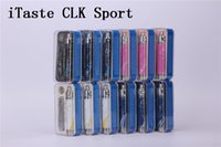 Cheap Authentic Innokin iTaste CLK Sport edition Rechargeable Battery Updated itaste CLK 1280 Battery 1280 mAh iTaste CLK Sport free shipping