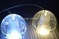 shower base - Modern Glass Sphere Ball G4 LED ORB Crystal Chandelier Meteor Shower Lustre Chandelier With Polished Chrome Stainless Steel Base