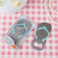 Wholesale Personalised Gift Boxed Thong Bottle Opener Beach Wedding Favour Bomboniere Great Gift can print logo