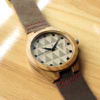 Wholesale New Style Wooden Watch genuine leather sanders wood watches japanese miyota movement wristwatches reloj homber watch Christmas Gifts
