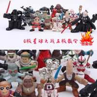 Wholesale 2015 new cm Star Wars PVC Action Figures Star Wars Q Edition dolls toy Children Christmas gift C118