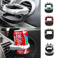 Wholesale New Portable Car air conditioning outlet can drink coffee water bottle Cup Mount support support promotion