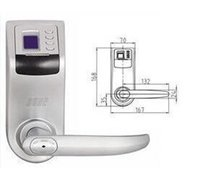 Wholesale 1pcs Reversible Handle Biometric fingerprint door lock F