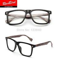 Wholesale anti radiation Rivet Bamboo glasses frame Optical Eyeglasses Wooden Men Brand Designer computer spectacle frames unisex sg088