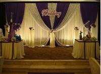 al por mayor material de fondo de la boda-Disfraces Telones Cortina Nuevo Diseño Lentejuelas barato de tela de fondo de escena de la boda material de Decoations boda cortina decorativa