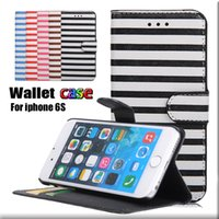 For Apple iPhone apples zebra - Iphone s Zebra Stripe Style Leather Case Credit Card KickstandFlip Wallet Case With Card Slot For Note Opp Bag