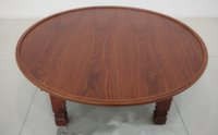 antique furniture - Round Living Room Table cm Folding Leg Korean Antique Furniture Asian Floor Table for Dinning Traditional Wooden Coffee Table