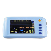 Wholesale 2016 New Handheld Parameter Vital sign Monitor Patient Monitor ECG NIBP Spo2 Pulse Rate Temperature