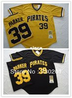 Cheap 30 Teams- hot sale throwback baseball jersey Pittsburgh Pirates #39 Dave Parker Baseball Jersey for free shipping with ems