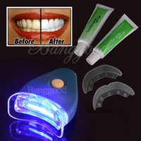 teeth whitening light - Hot New White Teeth Whitening Tooth Gel Whitener Health Oral Care Toothpaste Kit For Personal Dental Care Healthy With Light