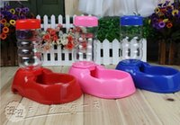 Cheap Wholesale-Bobo horizontal water dispenser automatic water pet drinking fountains water bowl plastic dog bowl dog bowl
