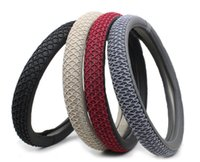 Wholesale auto supplies ice silk sets of car steering wheel covers Summer car direction