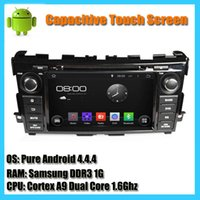 Wholesale 1024 capacitive touch screen GPS Navigation system dual core Ghz pure android car dvd player for Nissan Teana