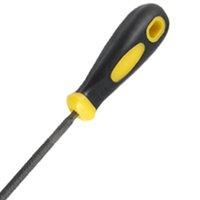 Wholesale FS Hot Plastic Coated Handle Round Design Metal File quot Long order lt no track