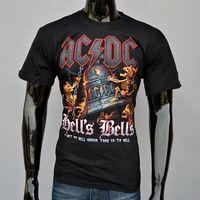 acdc shirt - Alisister new fashion men women s d t shirt Casual Brand AC DC Bell Skull t shirts Unisex harajuku acdc t shirt man tshirts top