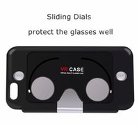 For Apple aspheric glass lens - 2016 New D VR Glasses Case for iPhone Hybrid ABS and PC Virtual Reality Lens Cover for iPhone s inch Figment Aspheric optics